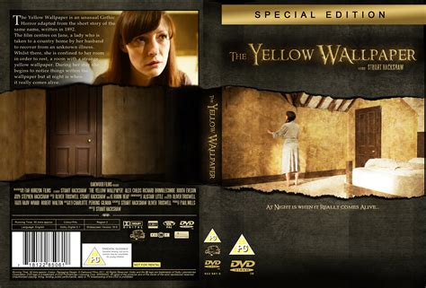 design dvd jacket first dvd cover design for the yellow wallpaper