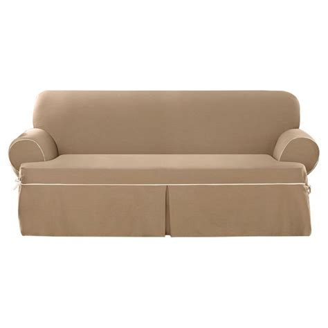 wayfair sofa slipcovers sure fit cotton duck sofa slipcover reviews wayfair