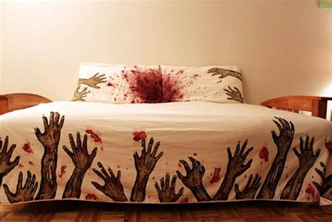 Zombie Sheets Bed Sheets Inspired By The Walking Dead Walking Dead Bed Set