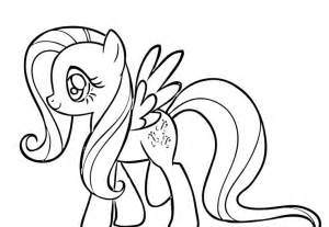 fluttershy coloring pages fluttershy happy coloring page