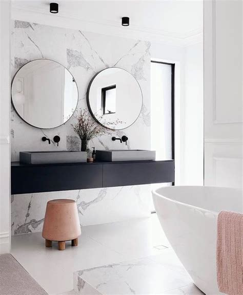 Modern Bathroom Looks 30 Chic And Inviting Modern Bathroom Decor Ideas Digsdigs