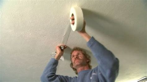 sheetrock plaster ceiling how to repair large cracks in the ceiling drywall from