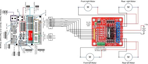 arduino robot kit wiring diagram ad hoc node