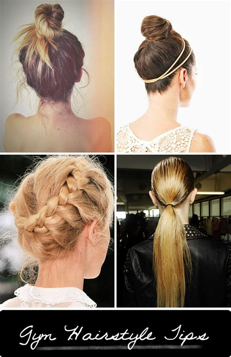 hairstyles that will stay put during a workout