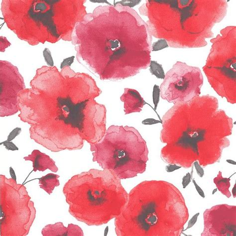 Sle Poppies Wallpaper In Red Design By Graham Brown Poppy Wallpaper Home Interior