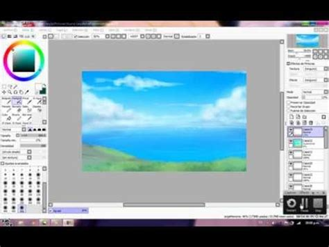 paint tool sai tutorial background drawing a background with paint tool sai