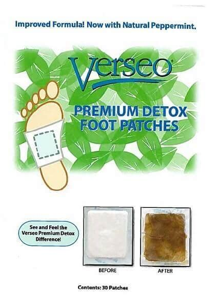 Japanese Detox by Verseo Detox Foot Pads Japanese Foot Patches That Remove