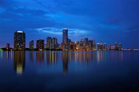 miami city skyline at night miami commercial property news april 14 2015 hawkinscre