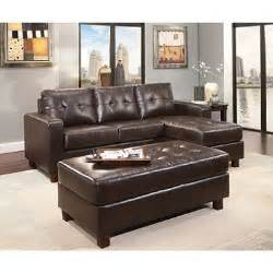 sams sofa claremont leather sofa with reversible chaise sectional