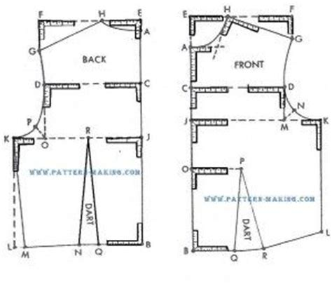 drafting pattern making and grading techniques diy bodice pattern sewing tips pinterest