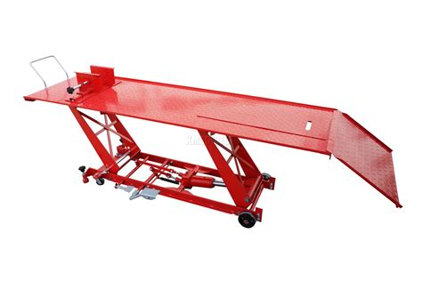 hydraulic motorcycle bench 1000lb hydraulic bike motorcycle motorbike workshop lift