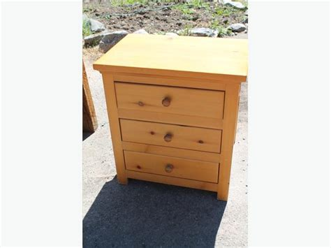 Simple Bedside Table Simple Wooden Bedside Table City