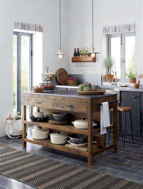 butcher block island ideas  pinterest kitchen
