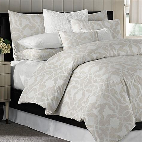 barbara barry comforter barbara barry 174 poetical duvet cover in natural bed bath