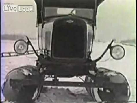 1929 fordson snow machine concept video wimpcom fordson snow machine 1929 concept how to save money