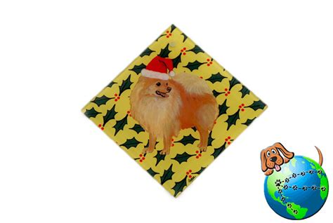 pomeranian ornaments pomeranian glass ornament ebay