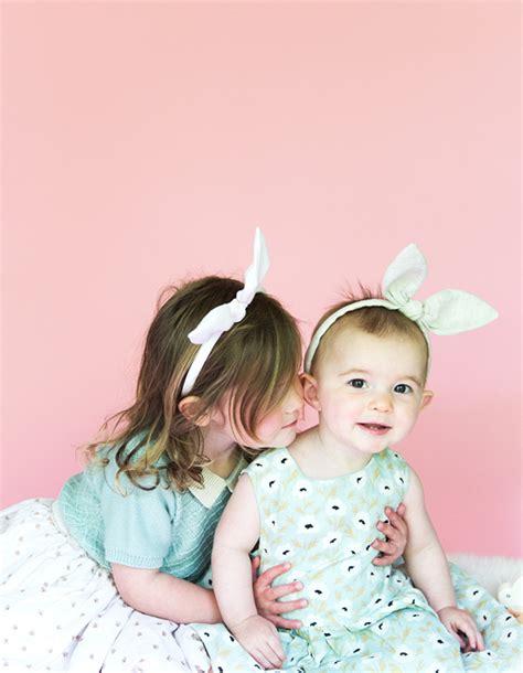 Headband Baby And Bunny Ears diy bunny ears headband say yes