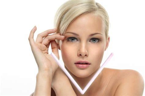 most desired face shape for models get the popular v shape face that most girls crave for