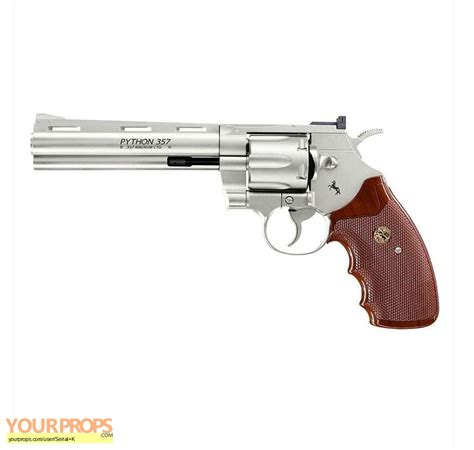 Walking Dead Revolver the walking dead replica of rick s colt 357 python replica prop weapon