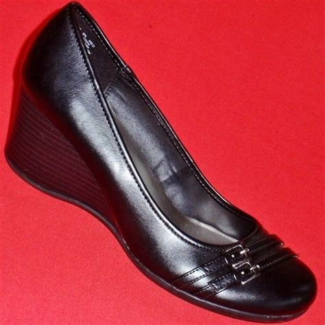 apt 9 mens boots s apt 9 martha black wedge heels slip on dress
