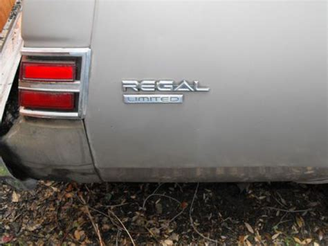 purchase   buick regal  running project car original owner   complete parts