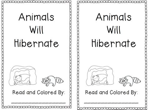 kindergarten activities on hibernation oceans of kindergarten fun hibernation books past and