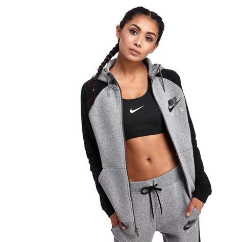 Hoodie Nike Go Original Grey T1310 6 nike air zip hoody jd sports