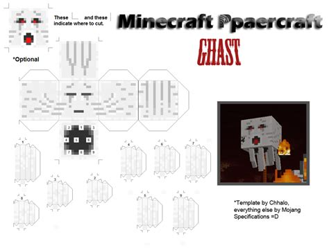 Minecraft Papercraft Ghast - the ultimate guide to minecraft papercrafts all