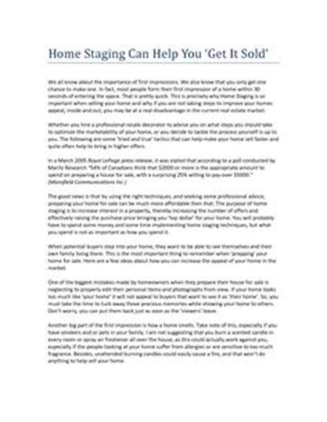 home staging contract template bing images home staging  sell  home faster home