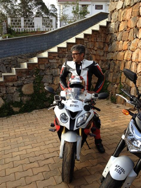 thala ajith   bmw cc bike cineframes