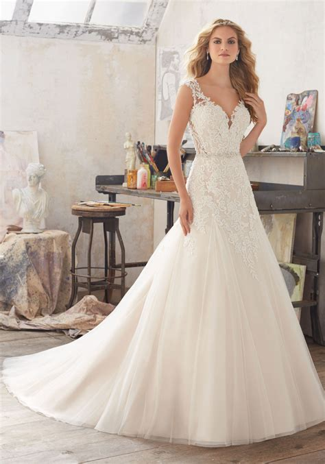 Wedding Style Dress by Marciana Wedding Dress Style 8117 Morilee