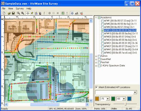 Survey Software - wi spy canada visiwave site survey software