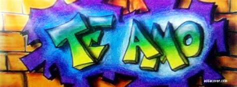 L Arte Te by Graffitis De Te Amo Arte Con Graffiti