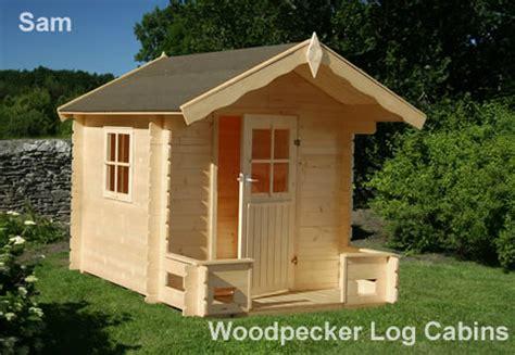 Woodpecker Log Cabin by Playhouse Sam Woodpecker Log Cabins