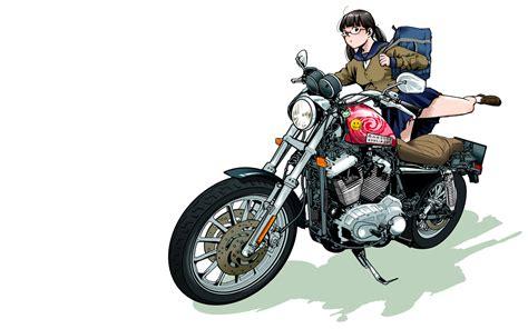 Kaos Anime Harley Davidson 00 motor bike wallpaper 1440x900 wallpoper 283514