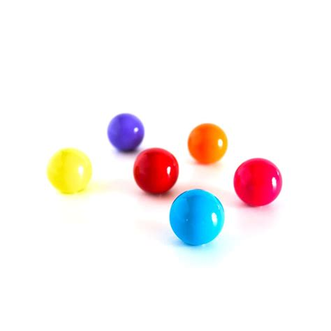 colored magnets magnetic balls assorted colored acrylic balls set of 6 216