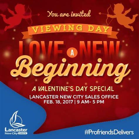 city valentines s day celebration in lancaster new city cavite
