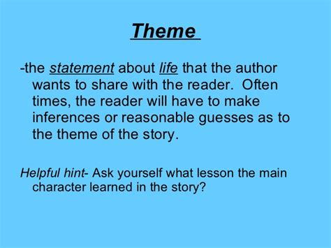 universal themes in fantasy stories elements of fiction