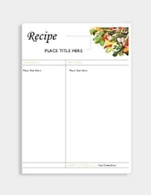 avery template for recipe cards organize and personalize your recipes avery