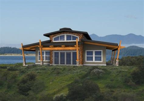the post and beam home package from linwood homes