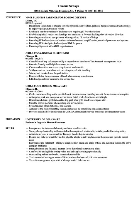 resume writing for boeing images exle resume
