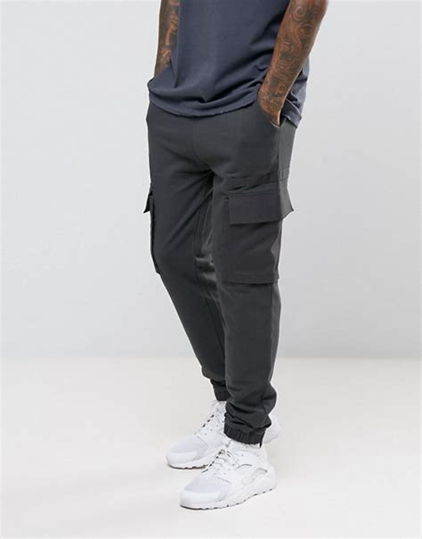 Asos Jogger asos asos jogger with woven cargo pockets and taping