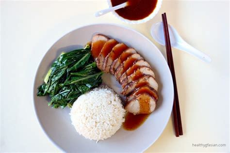 Simple Duck And Char Siu Rice by Barbecue Pork Rice Char Siu Fan Healthy Gf Asian