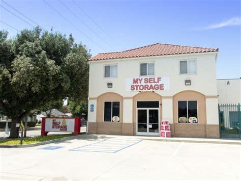 My Self Storage my self storage space west covina lowest rates