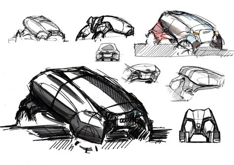 quattro sketchbook audi escape quattro concept car design