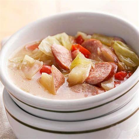 bratwurst soup cheesy brat soup