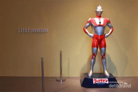 film animasi gundam ada ultraman dan gundam di galeri nasional indonesia