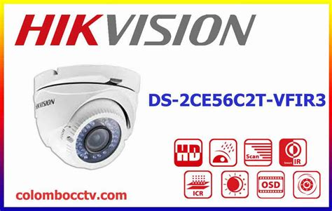 Cctv Hikvision Hd Turbo Ds 2ce56c2t Irm ds 2ce56c2t vfir3 hikvision turbo hd colombo cctv srilanka