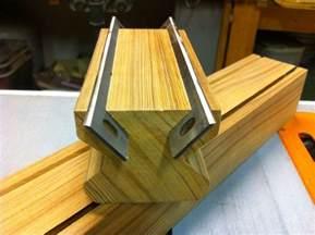 Table Vise Grip Jointer Planer Knife Sharpening Jig By Woodshaver Tony C