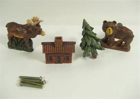 Cabin Drawer Pulls by Home Interiors Gifts 4pc Cabin Drawer Pulls Handles